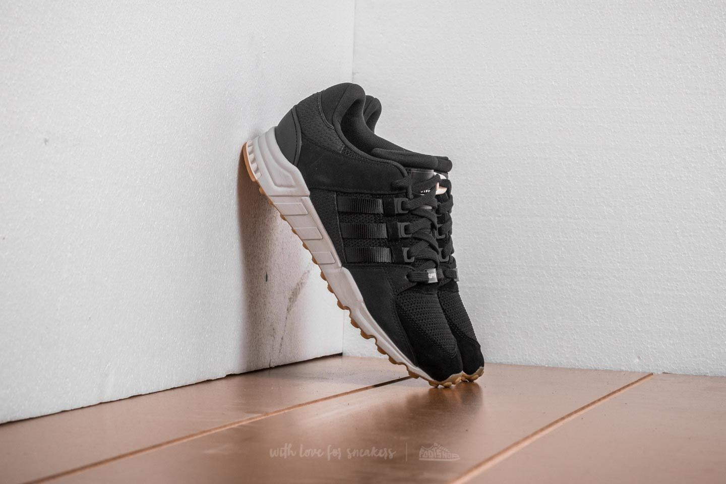 best sneakers 9a46a bc395 adidas EQT Support RF. Core Black Core Black Chalk White
