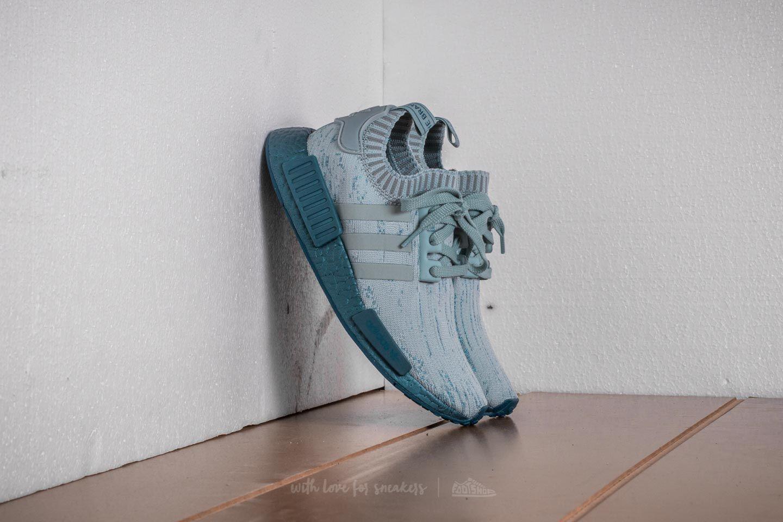 adidas NMD_R1 W Primeknit Tactile Green Petrol Metalic | Footshop