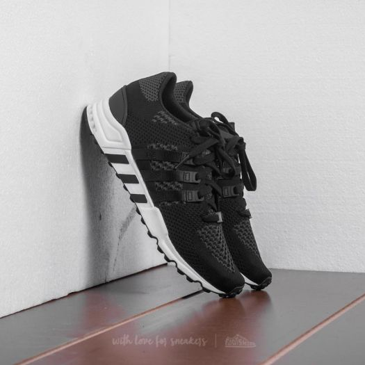 separation shoes on feet at fashion styles adidas EQT Support RF Primeknit Core Black/ Core Black/ Ftw ...