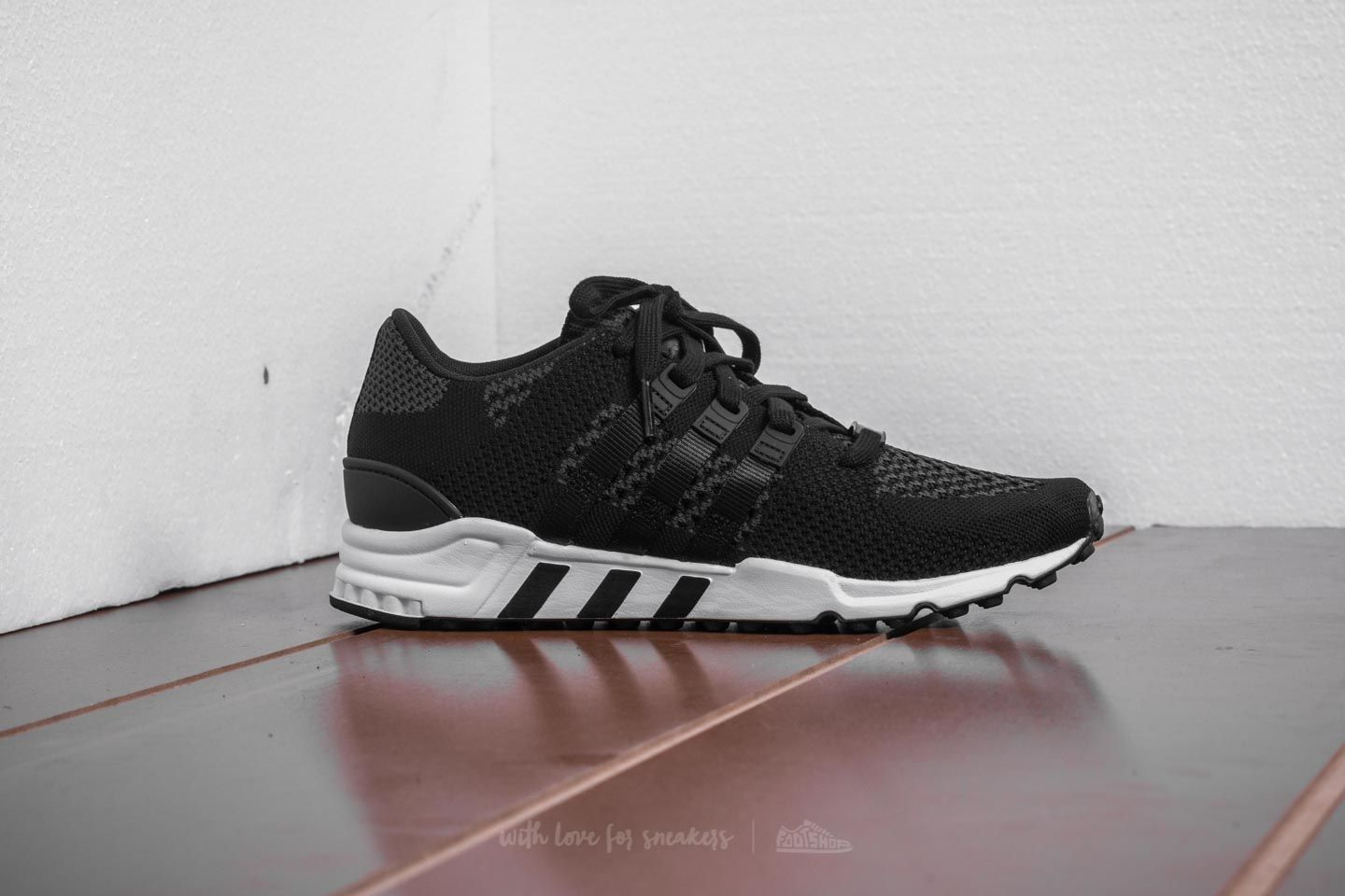 big sale 1b5f9 ebbee adidas EQT Support RF Primeknit Core Black Core Black Ftw White at a great