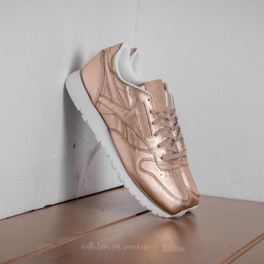 new arrival c066b 96808 Reebok Classic Leather Melted Metal