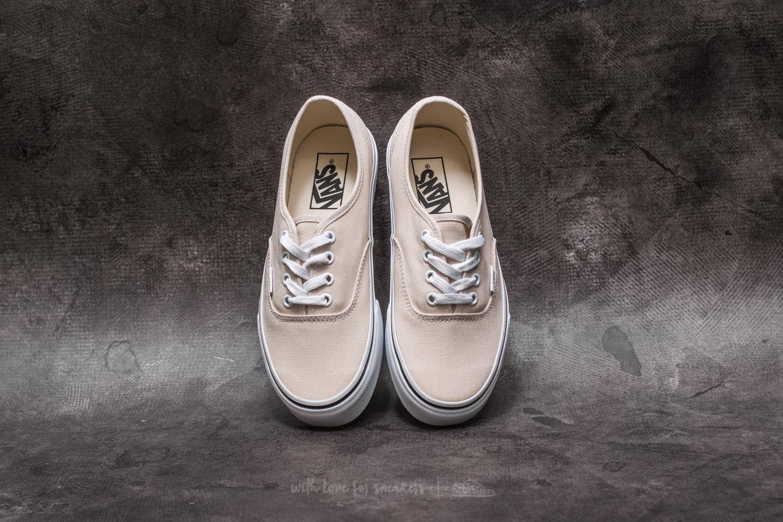 shoes Vans Authentic Birch/ True White
