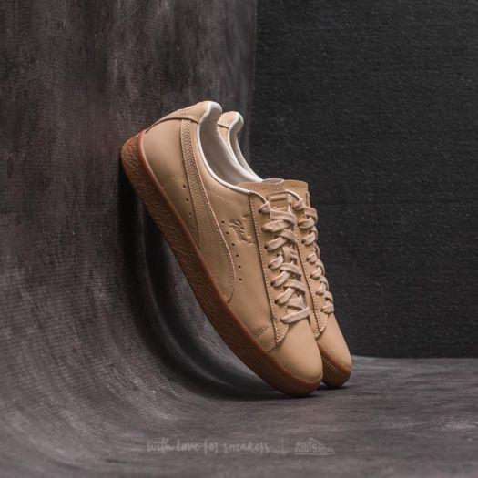 quality design c8fc7 8bab6 Puma Clyde Veg Tan NATUREL Natural Vachetta Tan | Footshop