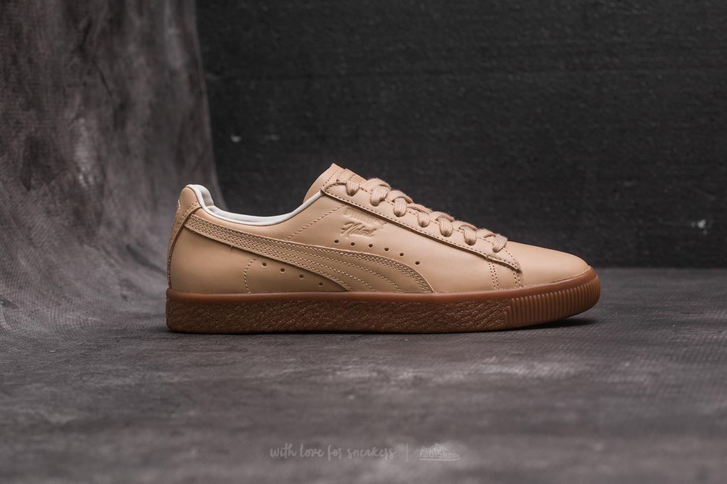 quality design bc693 a7183 Puma Clyde Veg Tan NATUREL Natural Vachetta Tan | Footshop