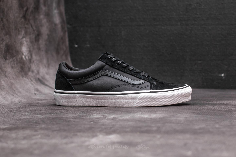 Vans Old Skool (Boom Boom) Black True White | Footshop