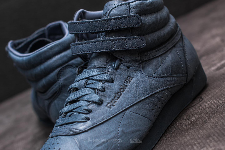 0c8a602a22395b Reebok Freestyle Hi FBT Smoky Indigo at a great price £48 buy at Footshop