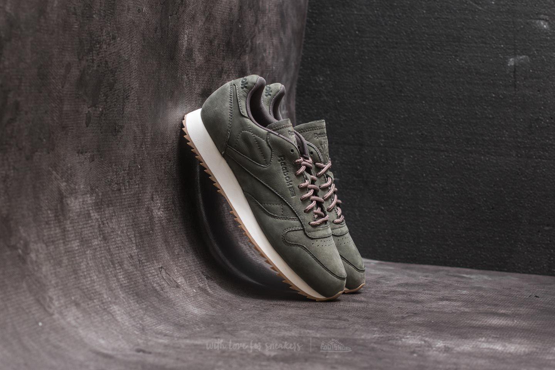 Reebok Classic Leather Mu Chalk Paperwhite Green, Brown