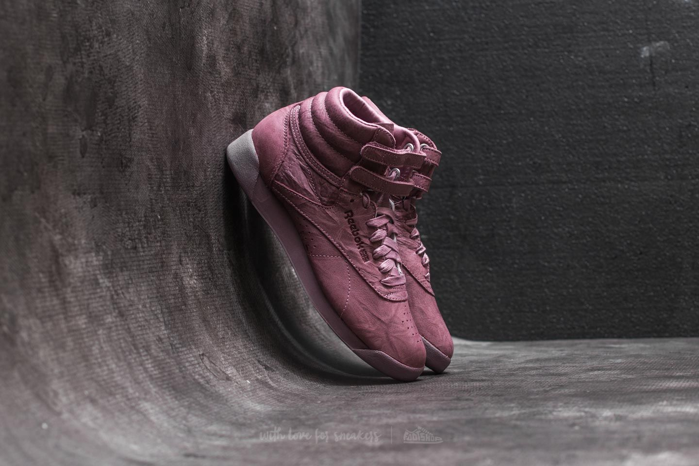 Reebok Freestyle Hi FBT Smoky Orchid  b8b529cd1