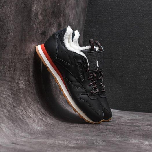 Reebok Classic Leather Arctic Black Burnt Amber Chalk Gum | Footshop