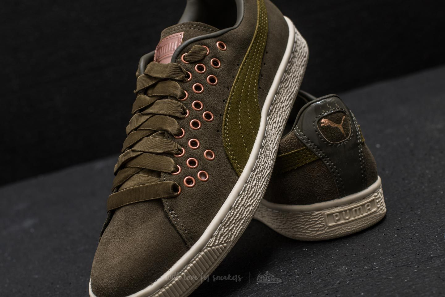 Puma Suede XL Lace VR Olive Night-Avocado at a great price 48 € buy 14adfa9604d