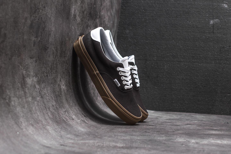 bcdefd165d573e Vans Era 59 (Bleacher) Black  Gum
