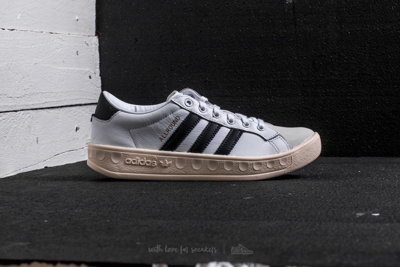 adidas Allround Low Ftw White/ Core Black/ Gold Metallic   Footshop