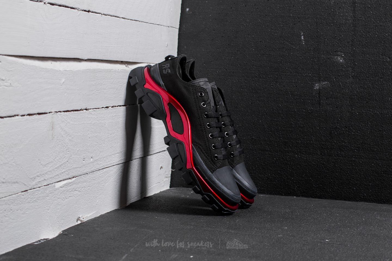 buy popular 68304 99c7d adidas x Raf Simons New Runner Core Black  Scarlet  Core Black
