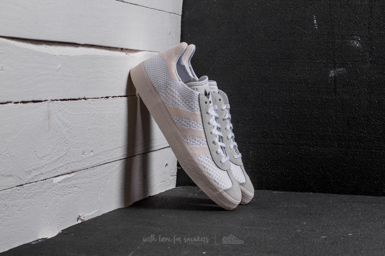 official photos 38e0d d5f06 adidas Gazelle Primeknit. Ftw White Chalk ...