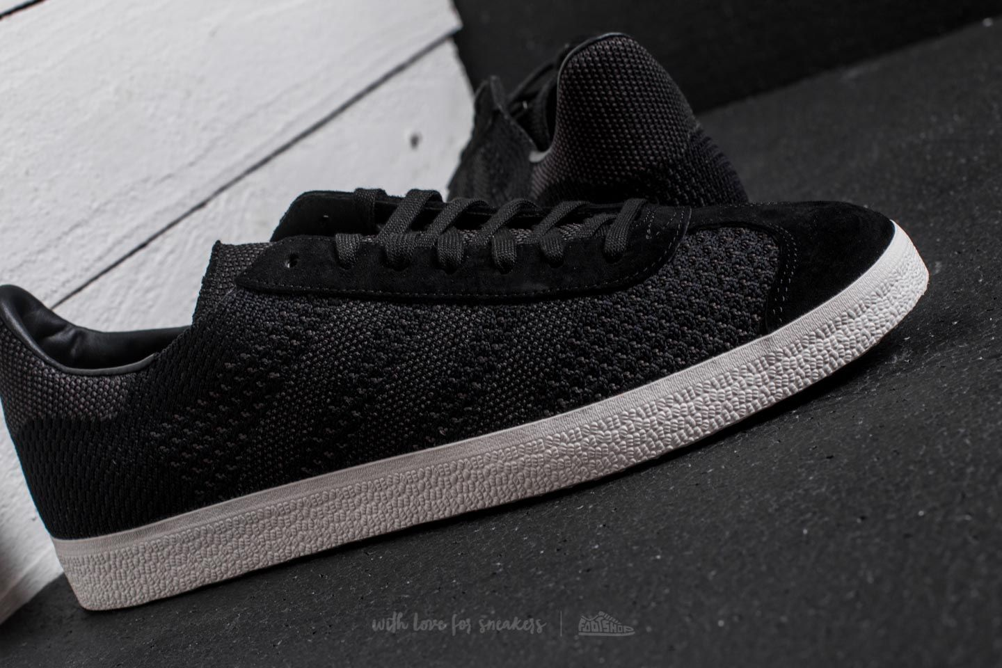 good quality outlet store sale new list adidas Gazelle Primeknit Core Black/ Core Black/ Off White ...