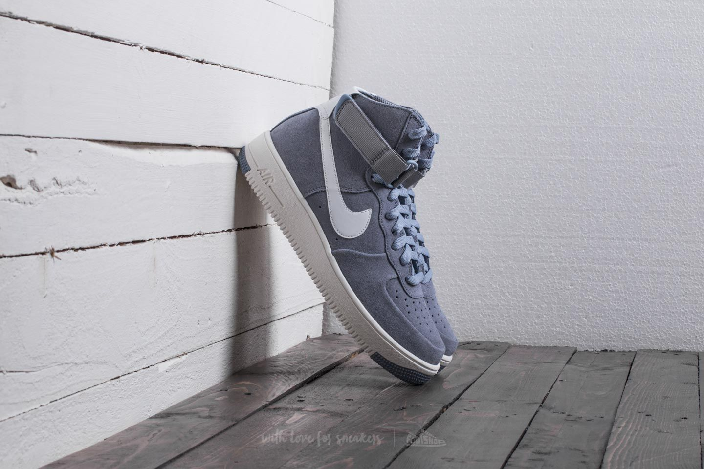 cede3ca6d Nike Air Force 1 Ultraforce Hi Glacier Grey/ Summit White | Footshop