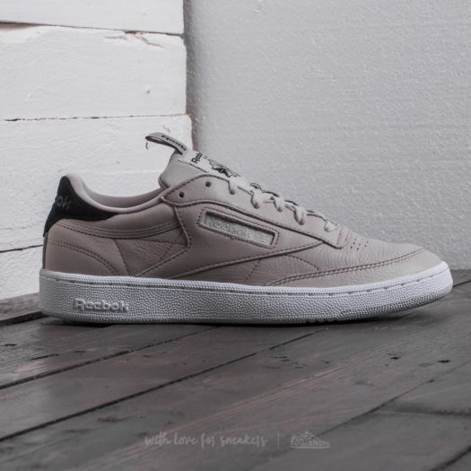 Reebok Club C 85 IT Sand Stone Black White | Footshop