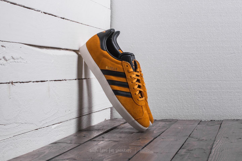adidas Gazelle Tactile Yellow/ Core Black/ Gold Metalic   Footshop