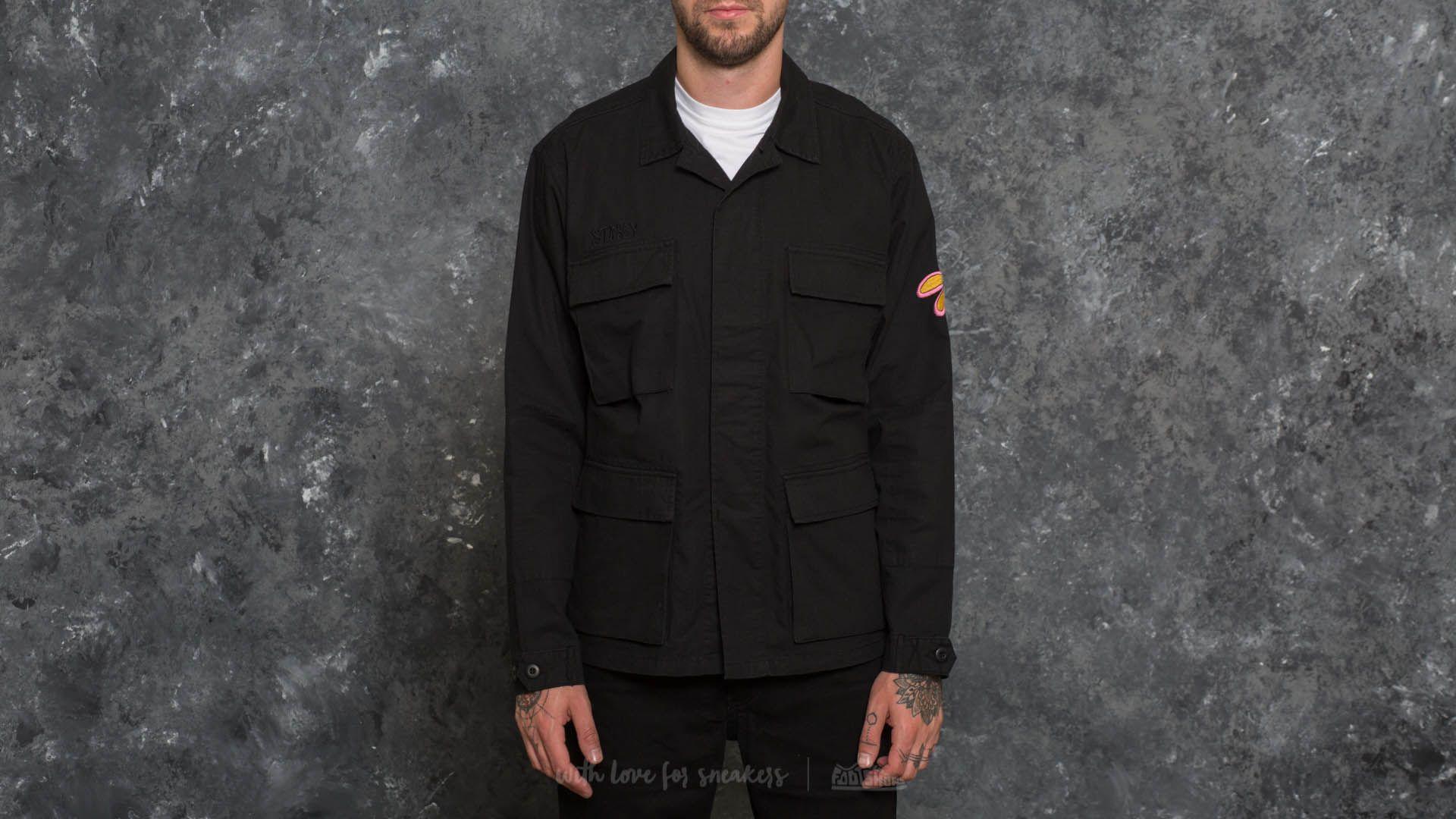 Stüssy Letts BDU Jacket Black
