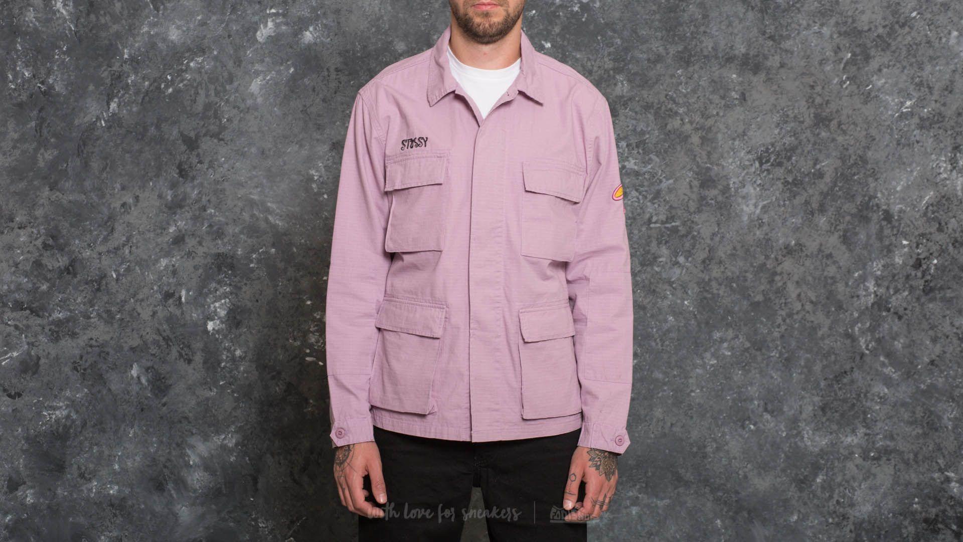 Stüssy Letts BDU Jacket Lavender