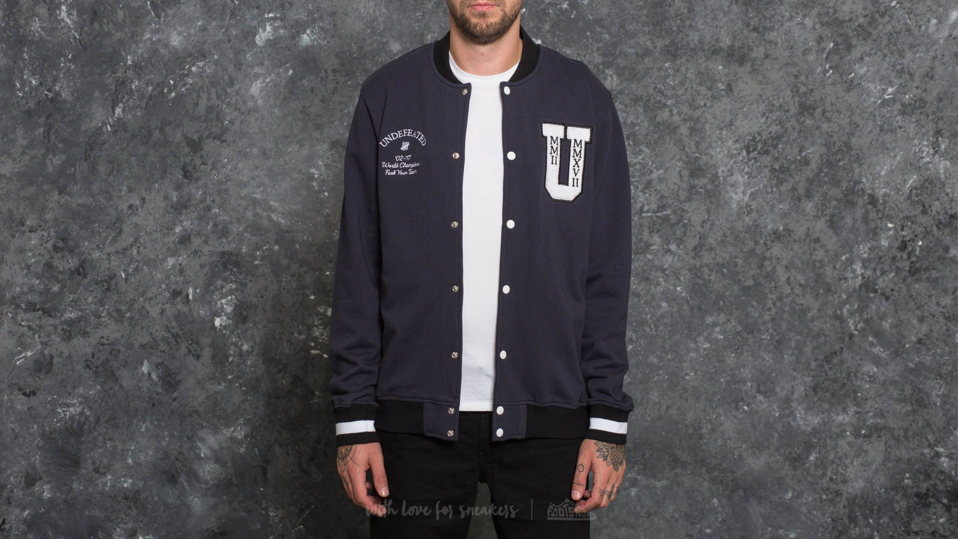 Undefeated Fleece Varsity Jacket
