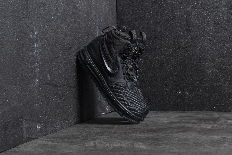 Kent Sábana Tender  Men's shoes Nike Lunar Force 1 Duckboot ´17 Black/ Black-Anthracite