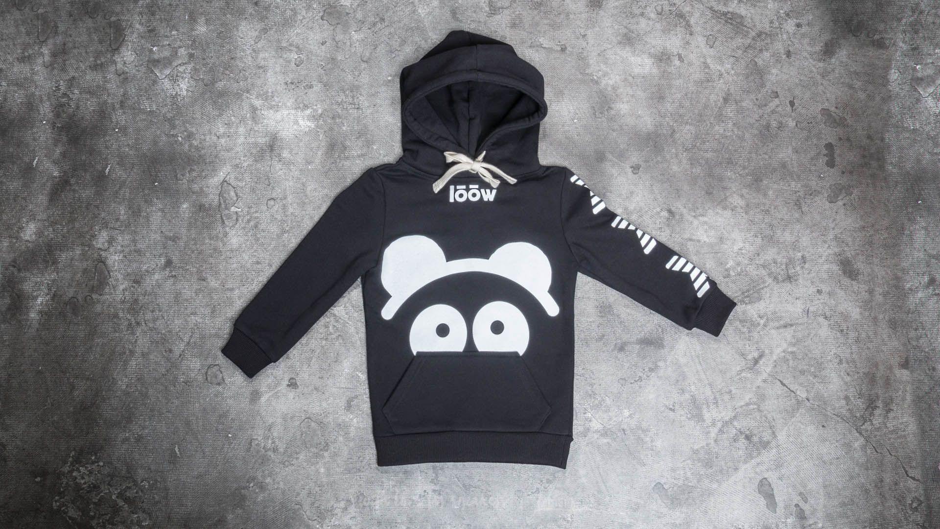 LoowFAT Si:bling Kids Hoodie Black