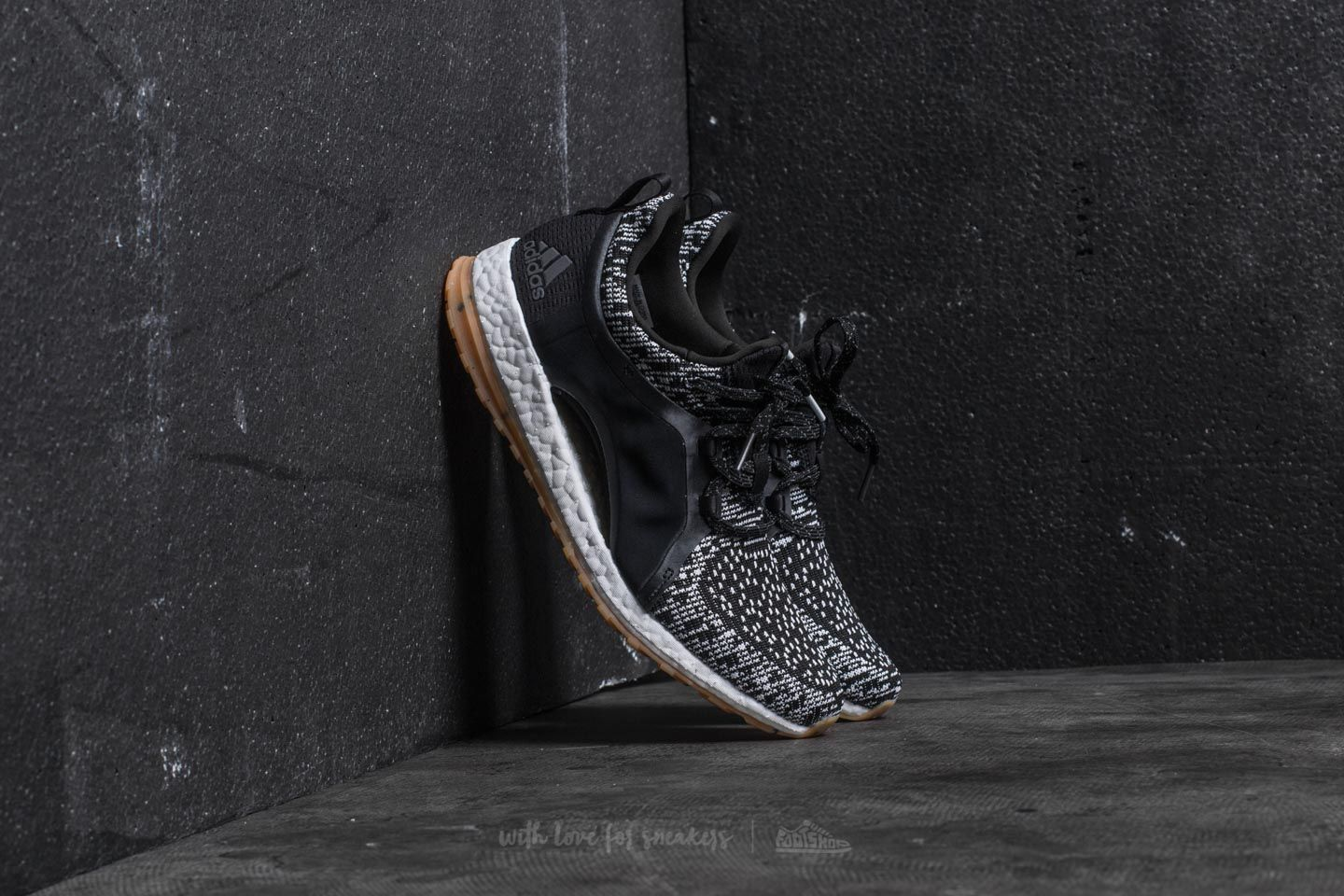 19662014d adidas PureBoost X All Terrain Core Black  Ftw White