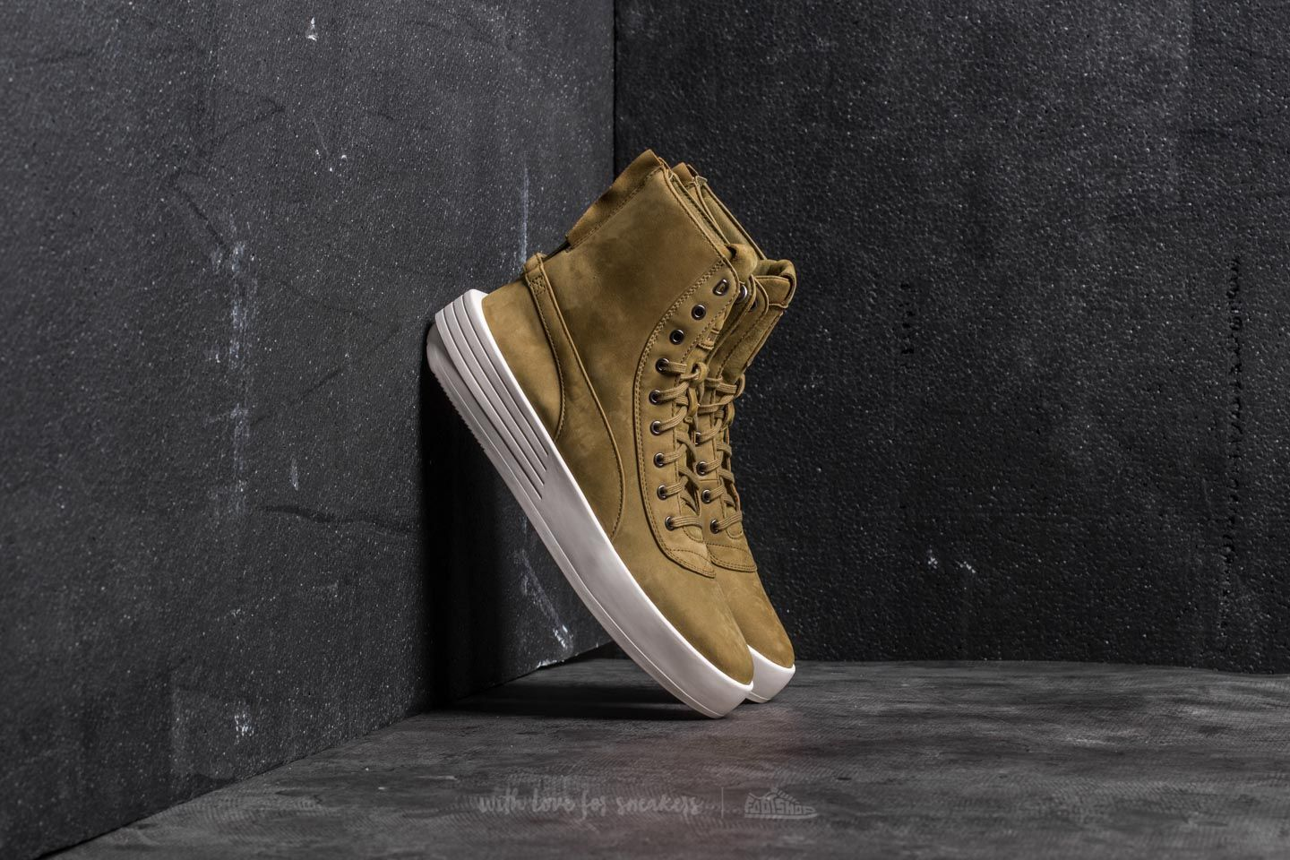 Puma XO Parallel Green Olive-Green Olive