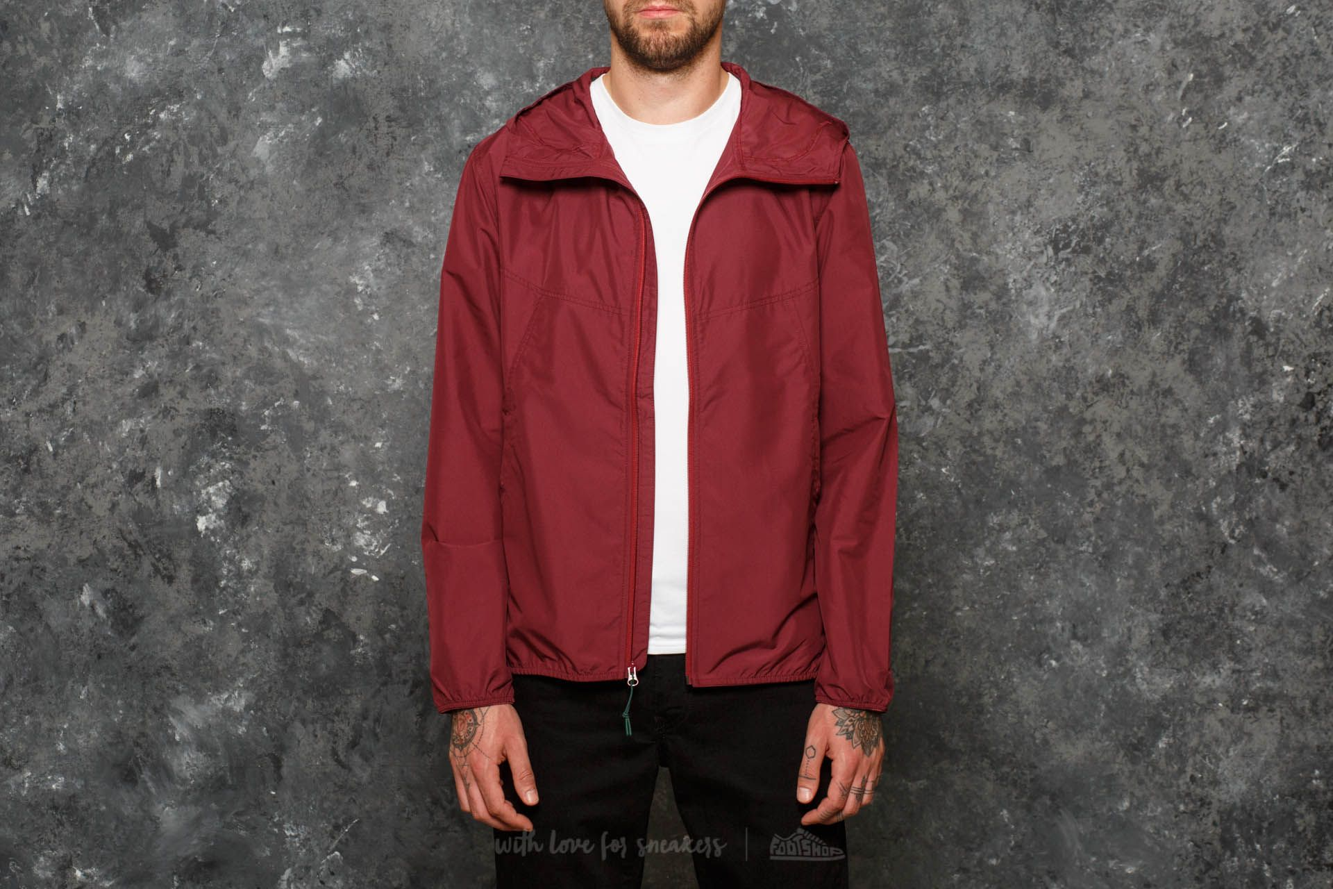 Chaquetas Herschel Supply Co. Voyage Wind Jacket Windsor Wine