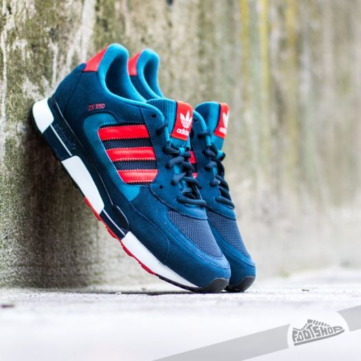 adidas ZX 850 Originals Collegiate NavyBright RedSt Dark | Footshop
