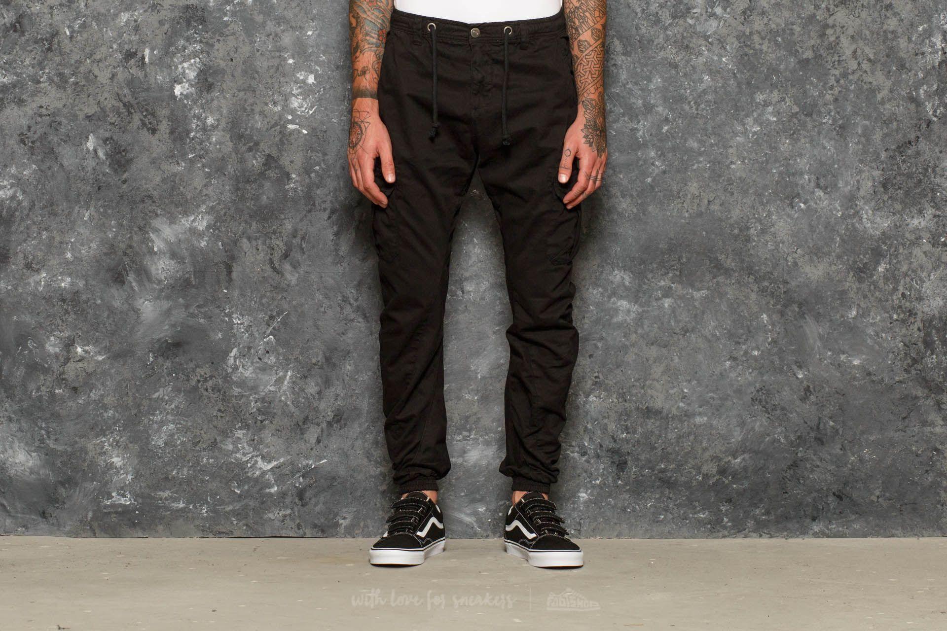 8c013b49b11425 Urban Classics Cargo Jogging Pants Black