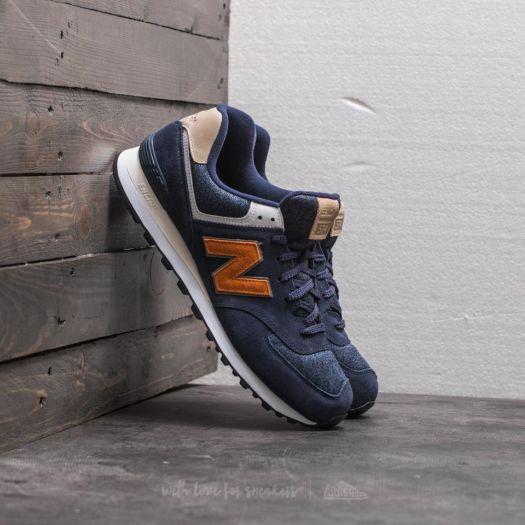 574 new balance homme orange