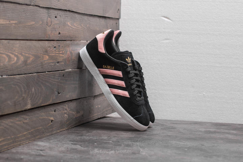aacf9529c1a adidas Gazelle W Core Black  Raw Pink  Gold Foil