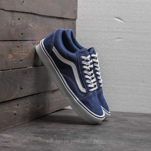 Vans Old Skool Lite (Suede Canvas) Blue Depths | Footshop
