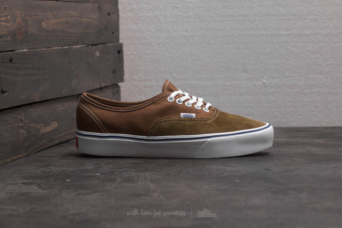 Vans Authentic Lite (Throwback) Teak Ermine | Footshop