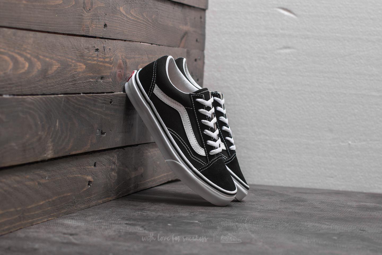 Vans Old Skool Black/ True White za skvělou cenu 1 150 Kč koupíte na Footshop.cz