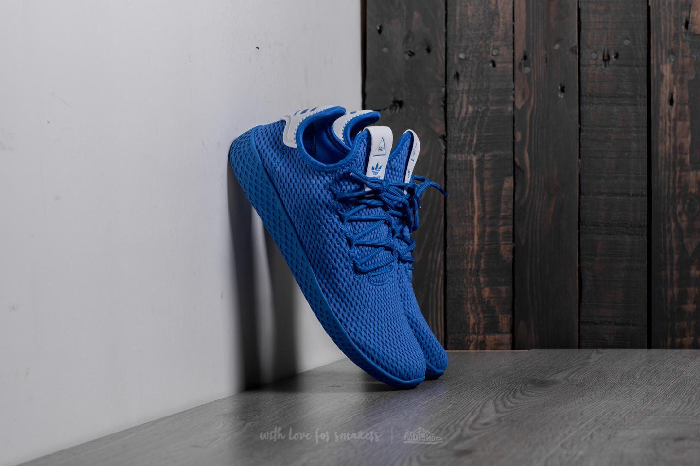 dd61211f9df8 adidas Pharrell Williams Tennis HU Blue  Ftw White