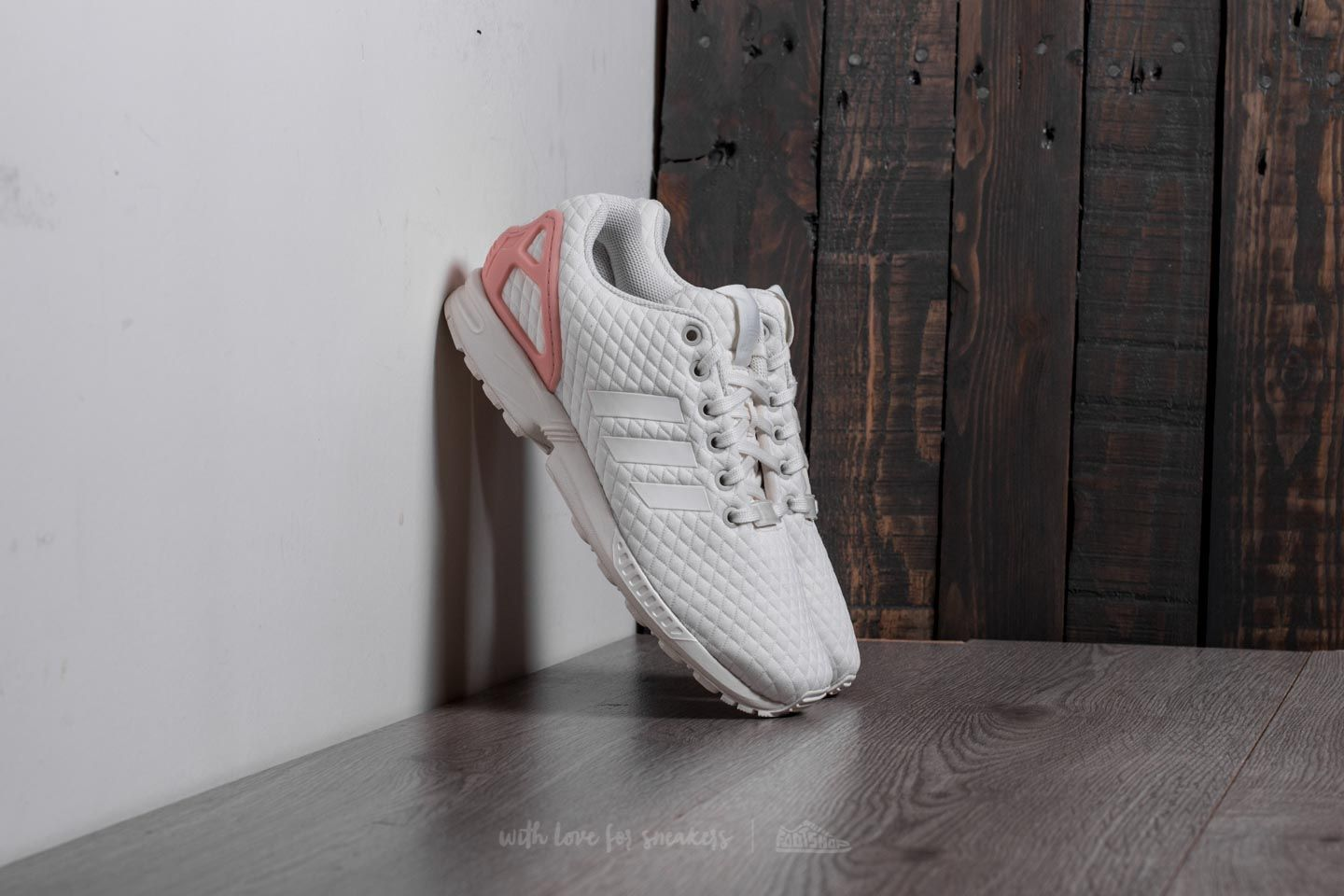 best sneakers b2d32 b1a3e adidas ZX Flux W Off White  Off White  Trace Pink at a great price