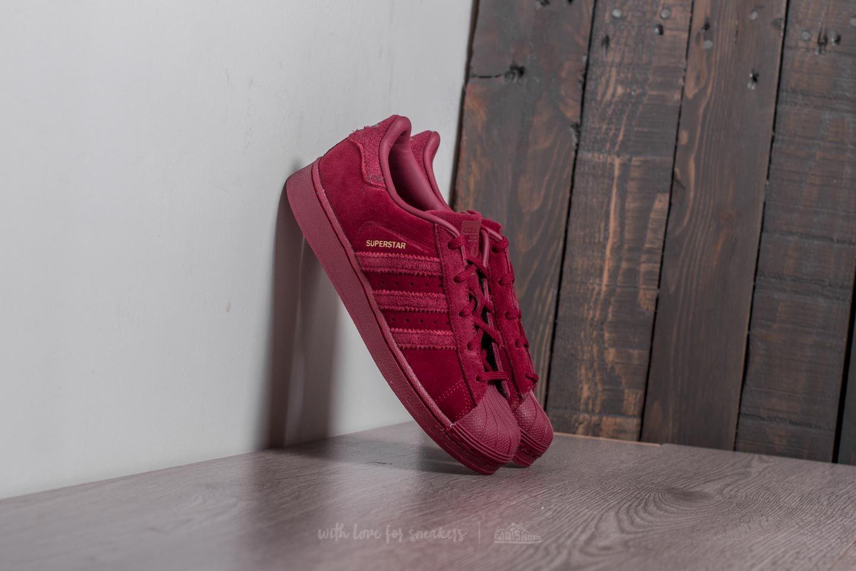 71d92331cb adidas Superstar J Burgundy  Burgundy  Burgundy