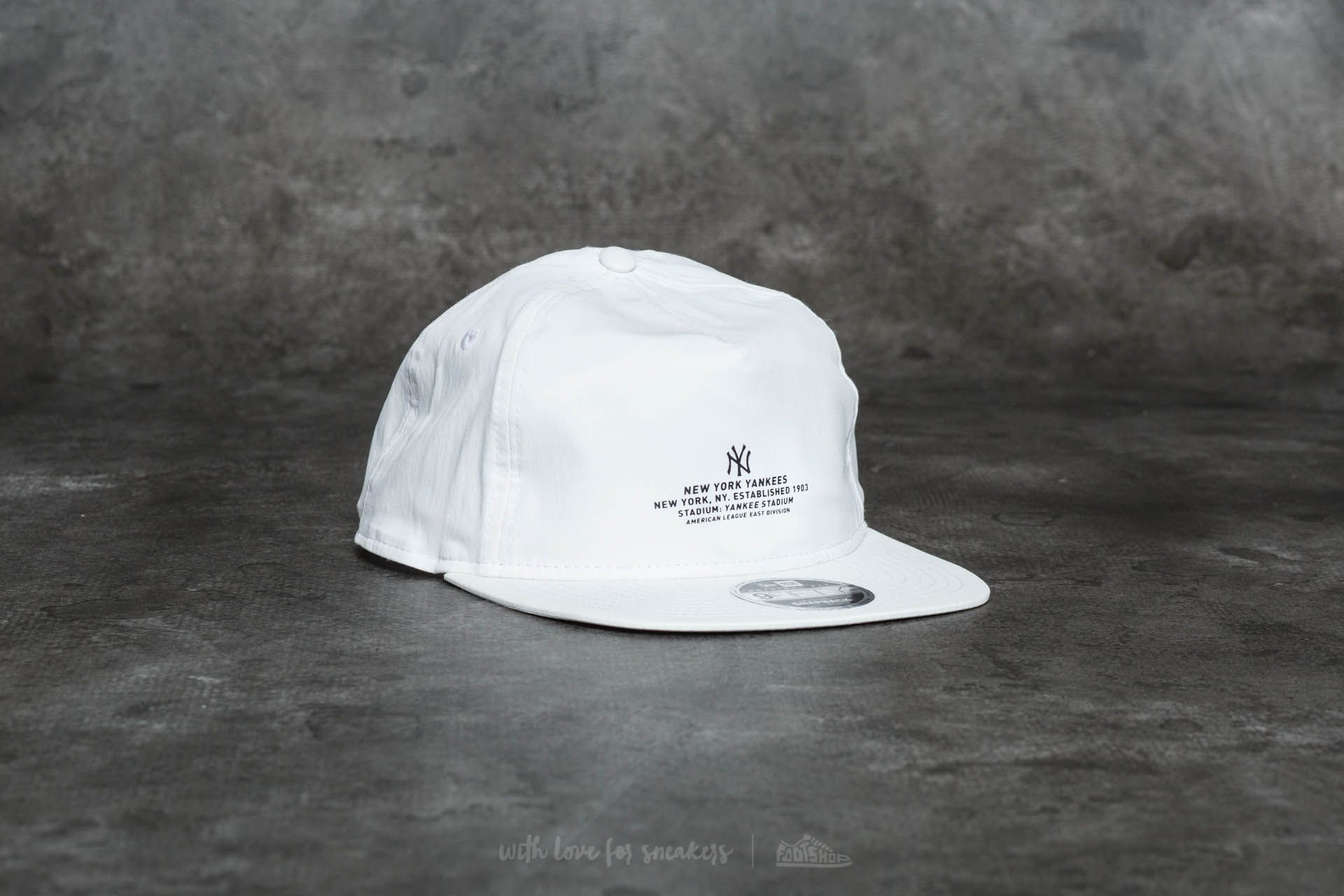 sale retailer db5ee 359ad ... spain new era 9fifty monochrome script new york yankees cap white at a  great price 18