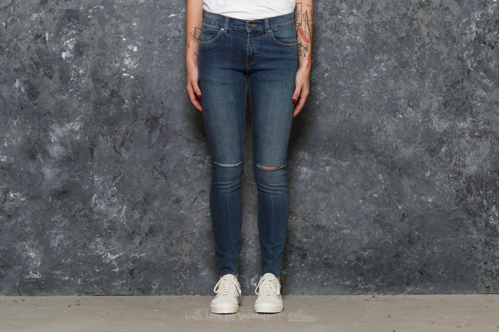 Cheap Monday Tight Jeans Cosmo Blue za skvělou cenu 760 Kč koupíte na Footshop.cz