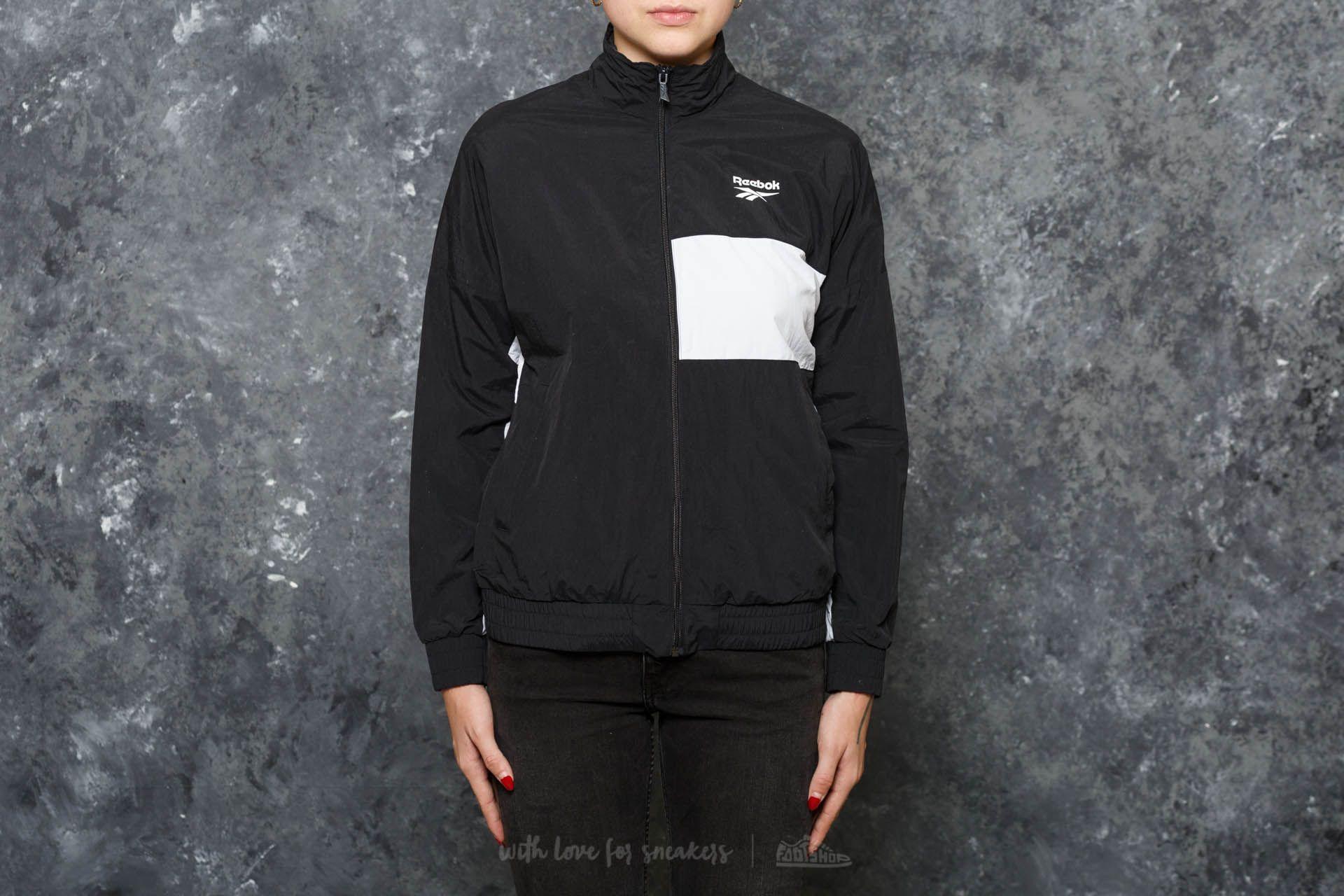 Reebok LF Vector Jacket Black/ Black za skvělou cenu 1 190 Kč koupíte na Footshop.cz