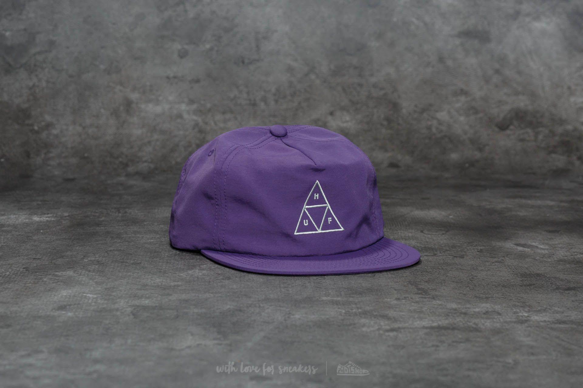 HUF Triple Triangle Snapback Purple za skvělou cenu 489 Kč koupíte na Footshop.cz
