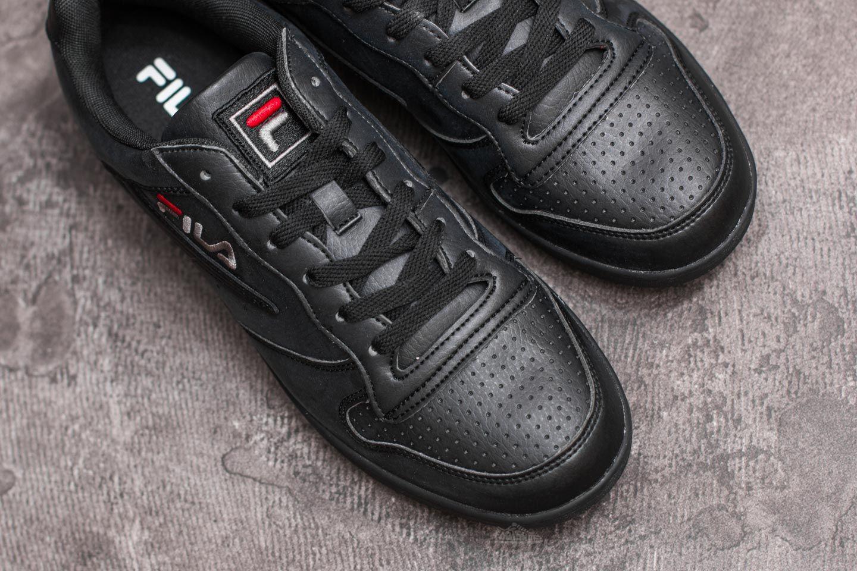 FILA FX100 Low Black/ Black   Footshop