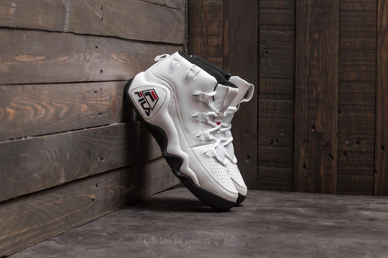FILA 95 White White Black | Footshop