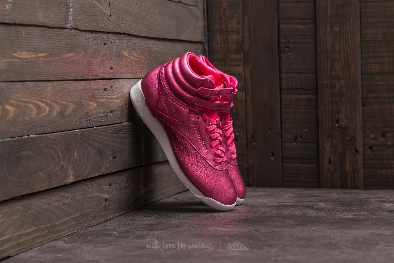 e3cd79e2b05c18 Reebok F S Hi Metallic Sharp Pink  White