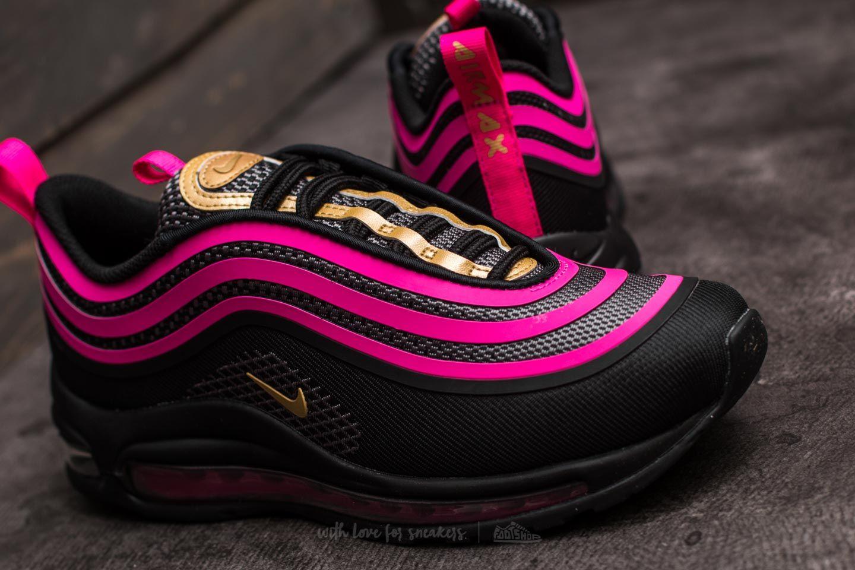 Nike Air Max 97 UL 17 (GS) Black Metallic Gold Pink Prime