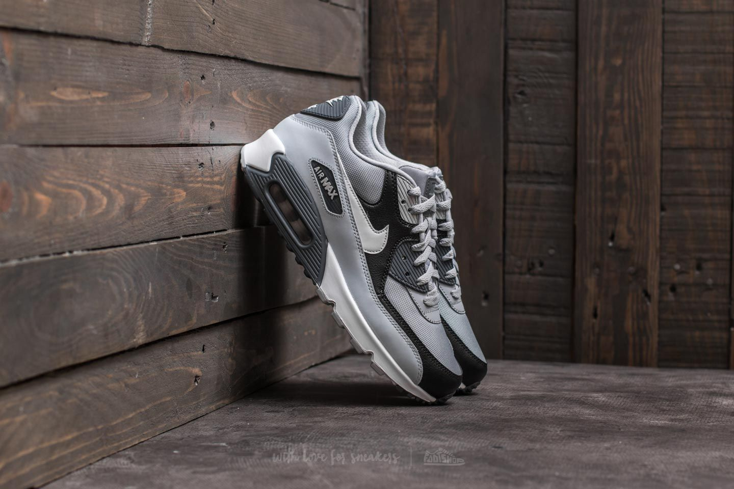buy popular 7d615 8d933 Nike Air Max 90 Essential. Wolf Grey  White-Pure Platinum