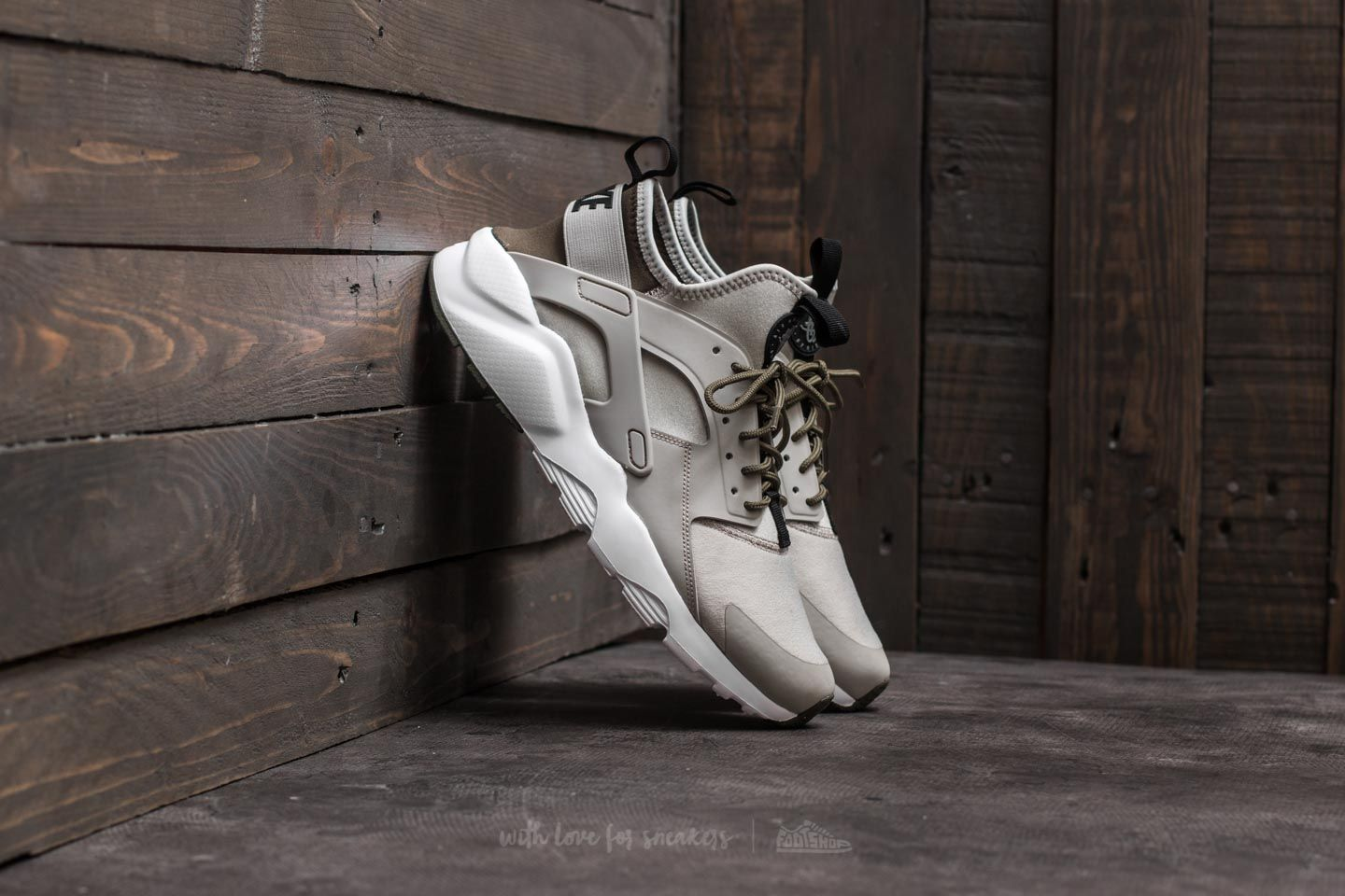 official photos 39753 170df Nike Air Huarache Run Ultra. Pale Grey  Black-Cargo Khaki